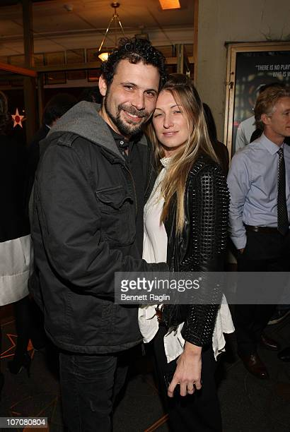 Jeremy Sisto and Addie Lane attend the opening night of The Break of Noon at Lucille Lortel Theatre on November 22 2010 in New York City