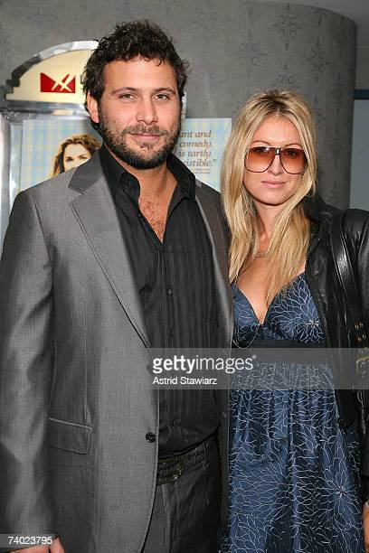 Jeremy Sisto and Addie Lane attends the premiere of the movie Waitress on April 29 2007 in New York City
