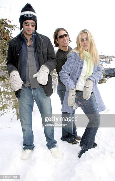 Jeremy Sisto and Deborah Kara Unger wearing Save the Seals gloves