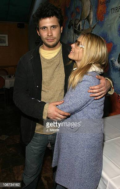 Jeremy Sisto and Deborah Unger during 2004 Sundance Film Festival One Point O Premiere After Party at Library Center Theater in Park City Utah United...