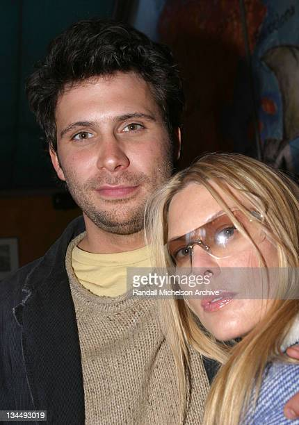 Jeremy Sisto and Deborah Unger during 2004 Sundance Film Festival One Point O Cocktail Party at Mercado Medeterranio in Park City Utah United States