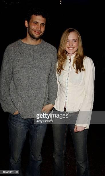 Jeremy Sisto and Evan Rachel Wood during IFP Los Angeles Film Festival Screening of thirteen at Directors Guild of America in Los Angeles California...