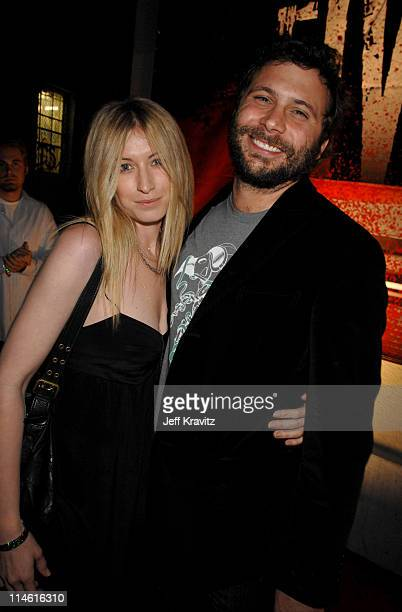 Jeremy Sisto and guest during 'Entourage' Third Season Premiere in Los Angeles After Party in Los Angeles California United States