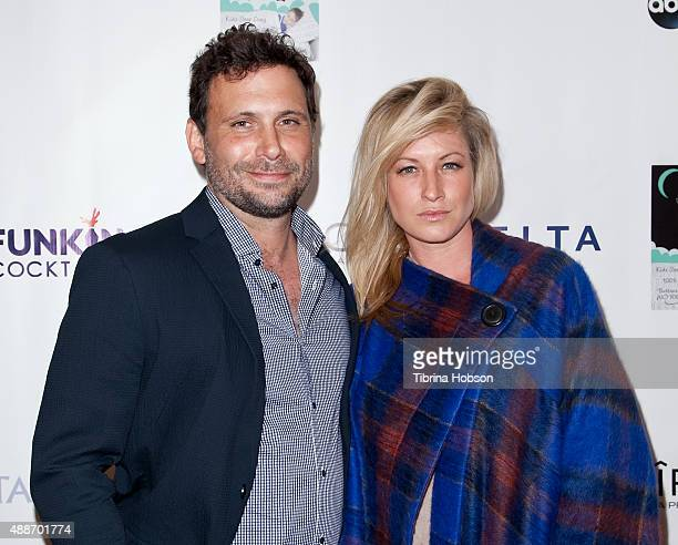 Jeremy Sisto and his wife Addie Lane attend the 3rd annual All Star Mixology Competition benefiting The Covenant House California at SkyBar at the...