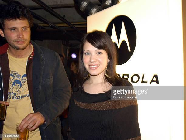 Jeremy Sisto and Marla Sokoloff during 2004 Park City Xbox Hosts Pandora's Tomorrow Party at the Motorola Lodge at Motorola Lodge in Park City Utah...