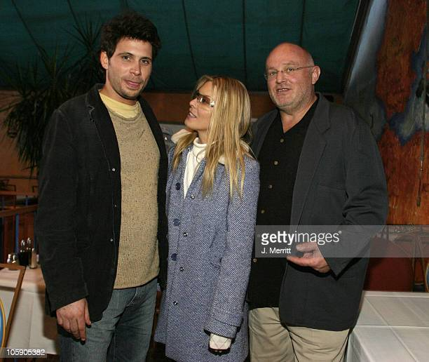 Jeremy Sisto Deborah Unger and Chris Sievernich during 2004 Sundance Film Festival One Point O Premiere After Party at Library Center Theater in Park...