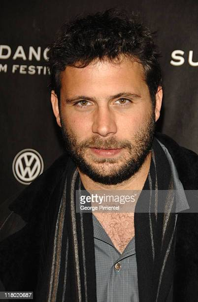 Jeremy Sisto during 2007 Sundance Film Festival The Waitress Screening and QA at Eccles Theater in Park City Utah United States