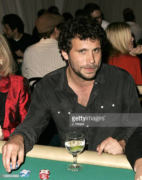 Jeremy Sisto during GQ and Calvin Klein Present 2nd Annual Celebrity Charity Poker Tournament to Benefit Peace Games at Private Residence in Beverly...