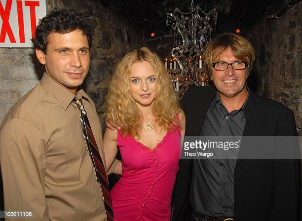 Jeremy Sisto Heather Graham and Director Allan White attend the 'Broken' New York City Premiere afterparty at D'or at Amalia in New York City on...