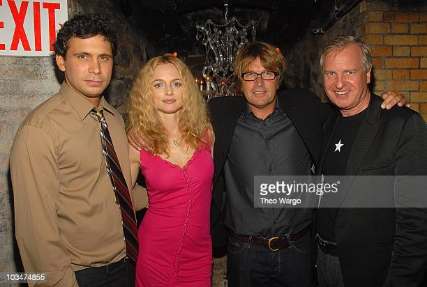 Jeremy Sisto Heather Graham Director Allan White and Producer Jerry Wayne attend the 'Broken' New York City Premiere afterparty at D'or at Amalia in...