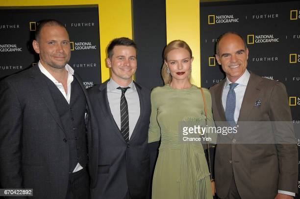 Jeremy Sisto Jason Ritter Kate Bosworth and Michael Kelly attend National Geographic FURTHER FRONT at Jazz at Lincoln Center's Frederick P Rose Hall...
