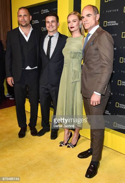 Jeremy Sisto Jason Ritter Kate Bosworth and Michael Kelly attend the 2017 National Geographic FURTHER FRONT at Jazz at Lincoln Center's Frederick P...