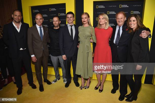 Jeremy Sisto Michael Kelly Mikko Alanne Jason Ritter Kate Bosworth Martha Raddatz Mike Medavoy and Carolyn Bernstein at National Geographic's Further...