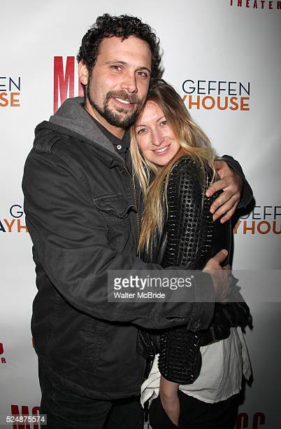 Jeremy Sisto wife Addie Lane arrives at the Opening Night Performance After Party for MCC Theater World Premiere OffBroadway Production of The Break...