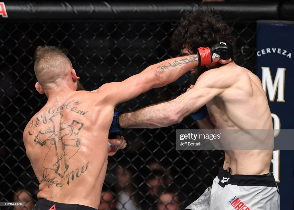 UFC 235: Stephens v Magomedsharipov : News Photo