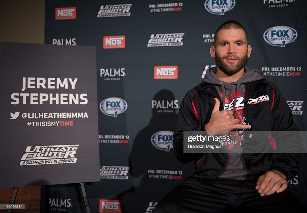 The Ultimate Fighter Finale: A Champion Will Be Crowned - Ultimate Media Day