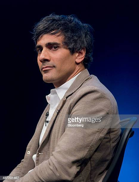 Jeremy Stoppelman, chief executive officer and co-founder of Yelp Inc., looks on during a panel discussion at the DreamForce Conference in San...
