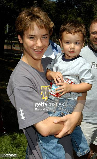Jeremy Sumpter and guest during Accenture 4th Annual Walk For Kids to Benefit the Los Angeles Ronald McDonald House at Griffith Park in Los Angeles...