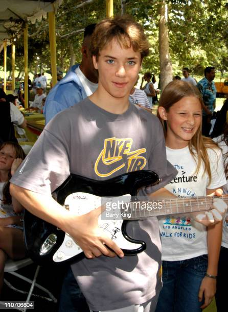 Jeremy Sumpter during Accenture 4th Annual Walk For Kids to Benefit the Los Angeles Ronald McDonald House at Griffith Park in Los Angeles California...