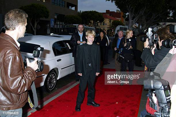 Jeremy Sumpter during Frailty Premiere at Laemmle Santa Monica Theater in Santa Monica California United States