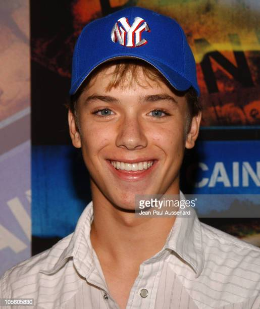 Jeremy Sumpter during Lost Premiere Arrivals at ArcLight Theatre in Hollywood California United States