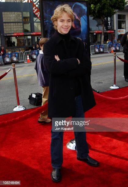 Jeremy Sumpter during Peter Pan Los Angeles Premiere at Grauman's Chinese Theater in Hollywood California United States