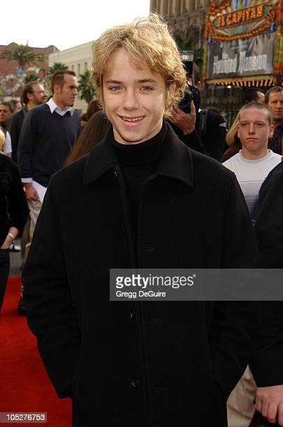 Jeremy Sumpter during Peter Pan Los Angeles Premiere at Grauman's Chinese Theatre in Hollywood California United States