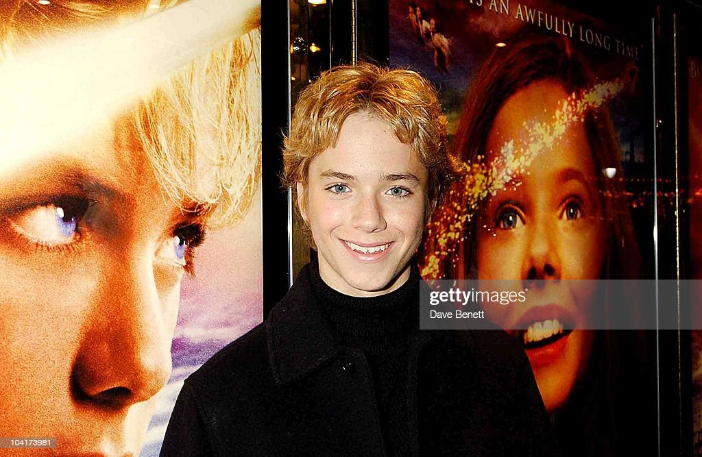 Jeremy Sumpter, Peter Pan The Movie, Premiere At The Empire, Leicester Square, London