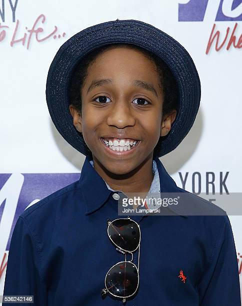 Jeremy T Villas attends 'You're A Good Man Charlie Brown' opening night after party at Dylan's Candy Bar on May 31 2016 in New York City
