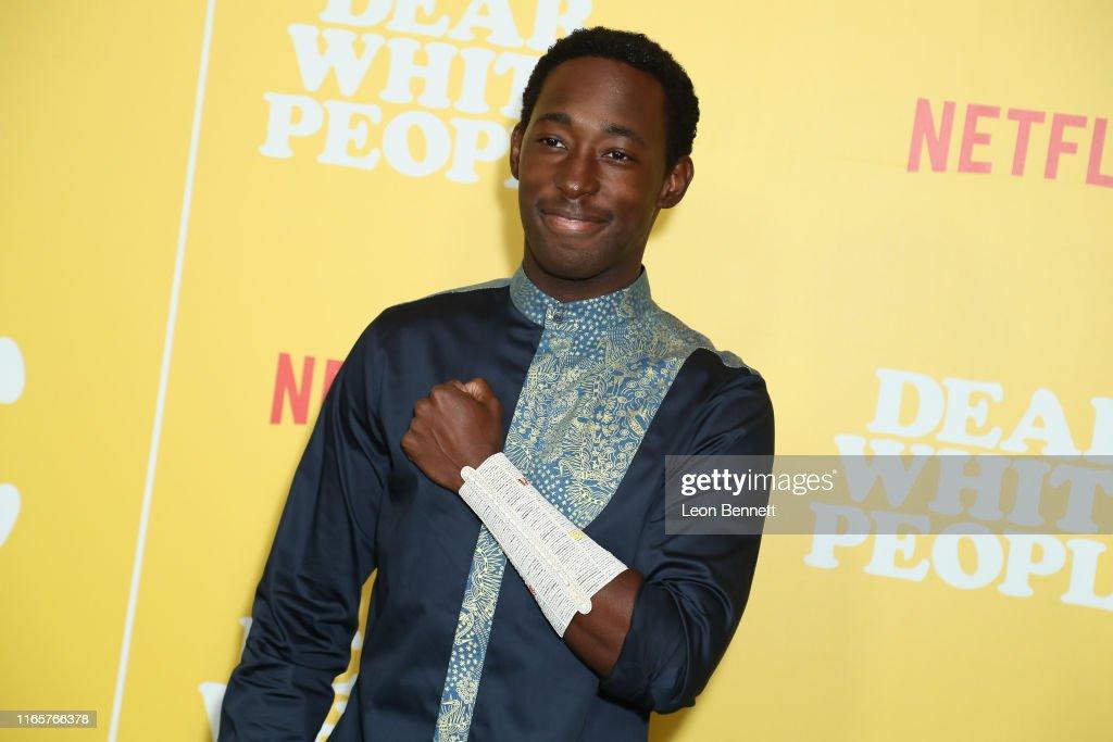 "Premiere Of Netflix's ""Dear White People"" Season 3 - Arrivals : News Photo"