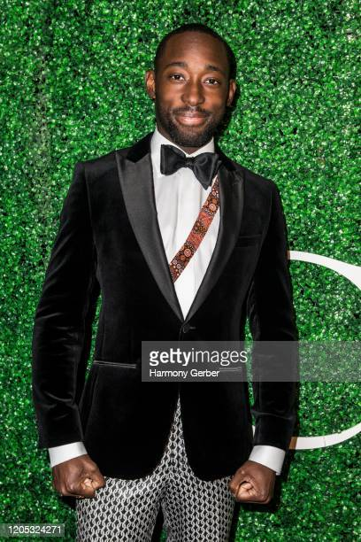 Jeremy Tardy attends the 3rd Annual Griot Gala Oscars After Party 2020 Hosted By Michael K. Williams at Ocean Prime on February 09, 2020 in Beverly...