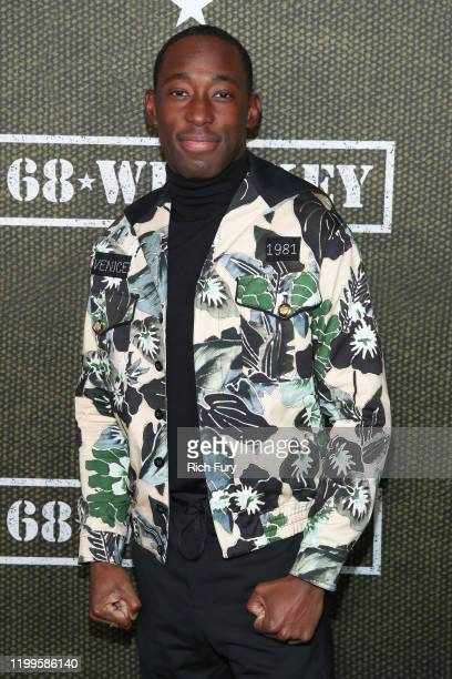 Jeremy Tardy attends the premiere of Paramount Pictures' 68 Whiskey at Sunset Tower on January 14 2020 in Los Angeles California