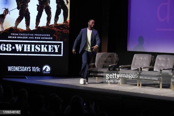 Jeremy Tardy attends the SCAD aTVfest 2020 68 Whiskey Press Junket on February 28 2020 in Atlanta Georgia