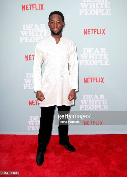 Jeremy Tardy attends the screening of Netflix's 'Dear White People' season 2 at ArcLight Cinemas on May 2 2018 in Hollywood California