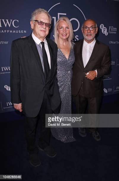 Jeremy Thomas Amanda Nevill and Alan Yentob attend the IWC Schaffhausen Filmmaker Bursary Award ceremony in association with the BFI at the Electric...
