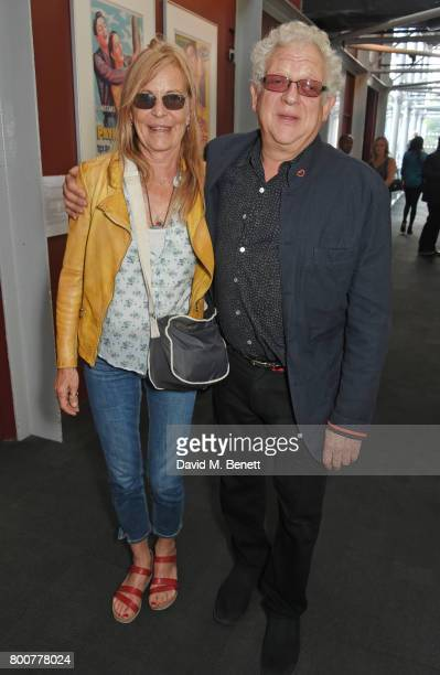 Jeremy Thomas and guest attend the BFI Southbank's tribute to Sir John Hurt on June 25 2017 in London England