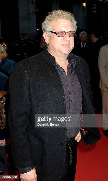 Jeremy Thomas arrives at the world premiere of 'Franklyn' during the BFI 52nd London Film Festival at Odeon West End on October 16 2008 in London...