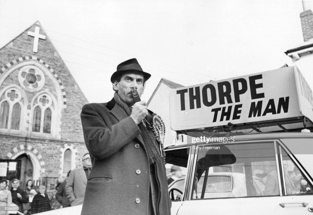 Thorpe Campaign : News Photo