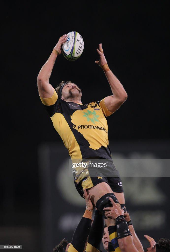 Super Rugby AU Rd 9 - Brumbies v Force : News Photo