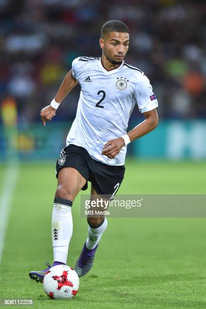 Jeremy Toljan during the UEFA European Under21 final match between Germany and Spain on June 30 2017 in Krakow Poland