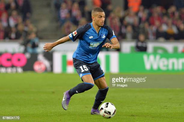Jeremy Toljan of Hoffenheim in action during the Bundesliga match between 1 FC Koeln and TSG 1899 Hoffenheim at RheinEnergieStadion on April 21 2017...