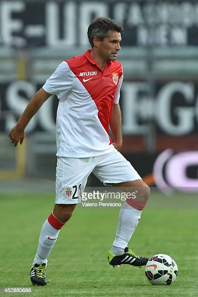 Jeremy Toulalan of AS Monaco FC in action during the preseason friendly match between FC Parma and AS Monaco FC at Stadio Ennio Tardini on July 28...