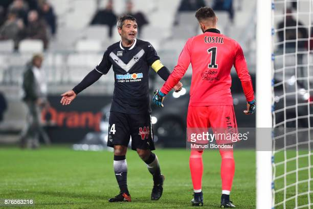 Jeremy Toulalan of Bordeaux during the Ligue 1 match between FC Girondins de Bordeaux and Olympique Marseille at Stade Matmut Atlantique on November...