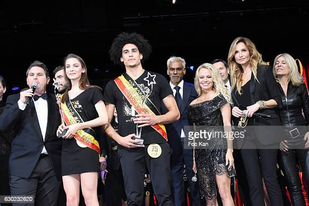 Jeremy Urbain Top models 2017 awarded models Manon Louvrier Gavin Diaz Garcia Satya Oblette Pamela Anderson Adriana Karembeu and guests attend the...