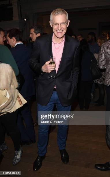 Jeremy Vine attends the launch of the Whole Man Academy at Gieves Hawkes on March 12 2019 in London England