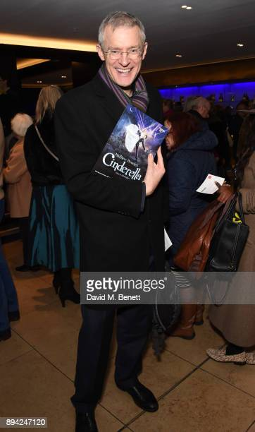 Jeremy Vine attends the matinee Gala Performance of 'Matthew Bourne's Cinderella' at Sadler's Wells Theatre on December 17 2017 in London England