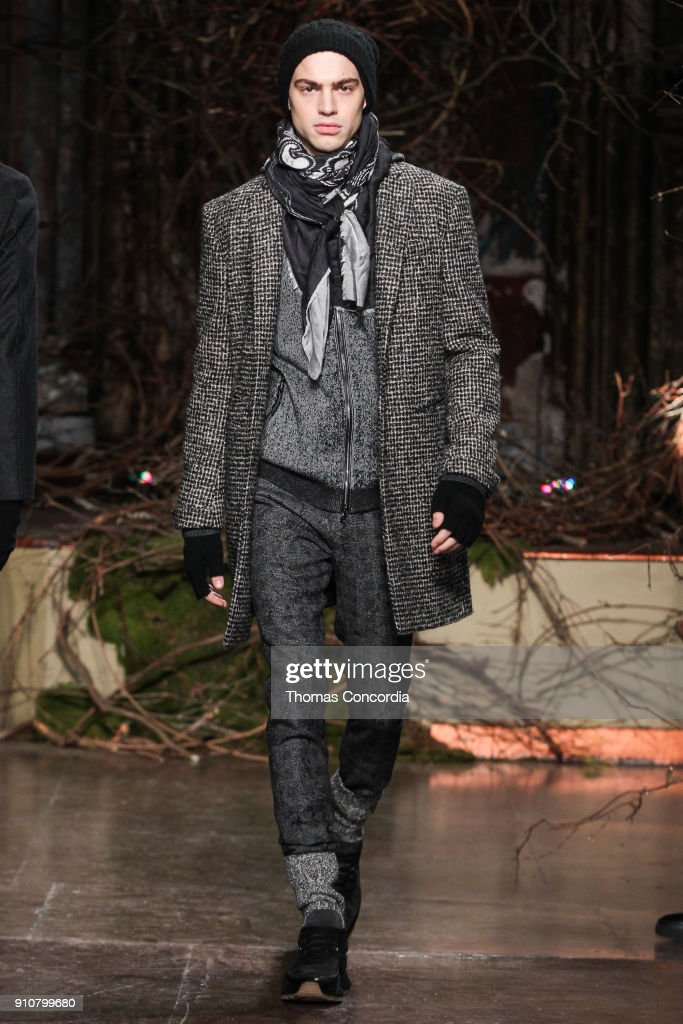 John Varvatos Fall/Winter 2018 Runway Show : News Photo