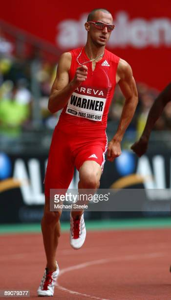 Jeremy Wariner of USA competes in the Mens 400m during the IAAF Golden League Track and Field meeting on July 17 2009 in Paris France
