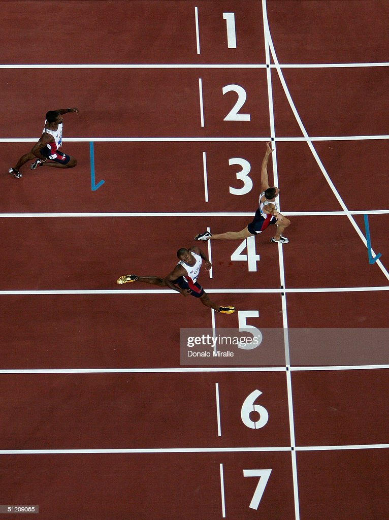 Mens 400m Final : News Photo