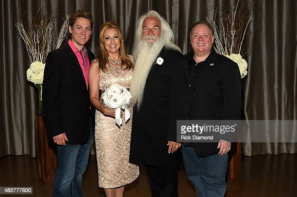 Jeremy Westby Webster Media and Kirt Webster Webster Media attend the wedding of Wiliam Lee Golden and Simone De Staley on August 29 2015 at The...